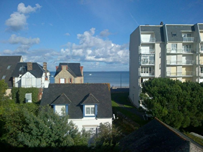 TEXT_PHOTO 0 - Ensemble composé de 2 appartements (Type 4 et Type 3) SAINT CAST  - LA GRANDE PLAGE - VUE MER