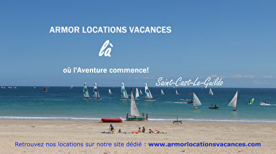 TEXT_PHOTO 0 - LOCATION VACANCES SAINT CAST  VUE MER GRANDE PLAGE 4 PERSONNES